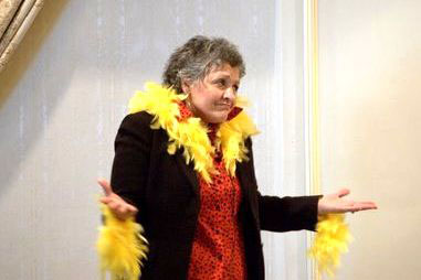 Sometimes it's okay to be a chicken! My speech, Fearless Feathered Fowl, took Third Place in the Tall Tales contest at the Toastmasters District 53 Spring Conference in Holyoke, MA. Photo by Bill Watson.