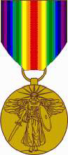 The Victory Medal WWI, US Army